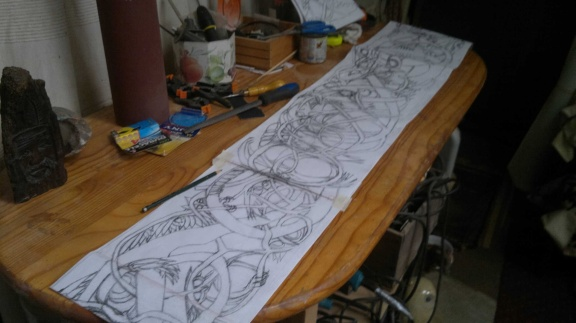 design laid out