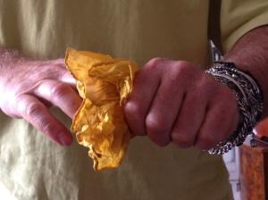 handkerchief trick