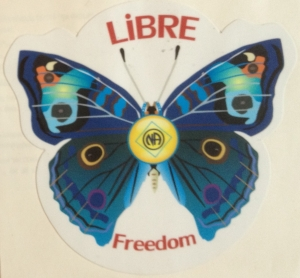 Libre butterfly