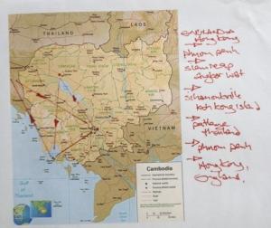 Map of Cambodia 2