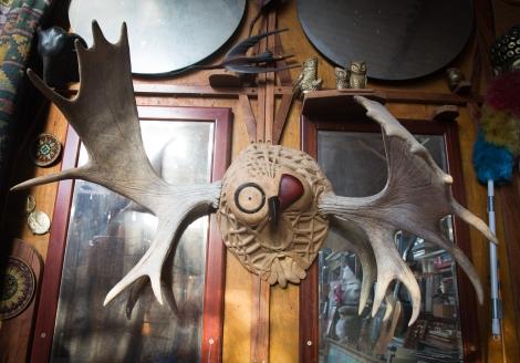 Owl Art Studio - sculpture images by Jonathan Prime