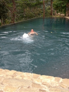 leisurely float