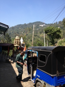 Tuktuk from Ella