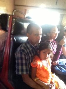 On the train to Ella