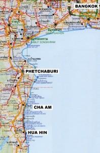 Cha'am map